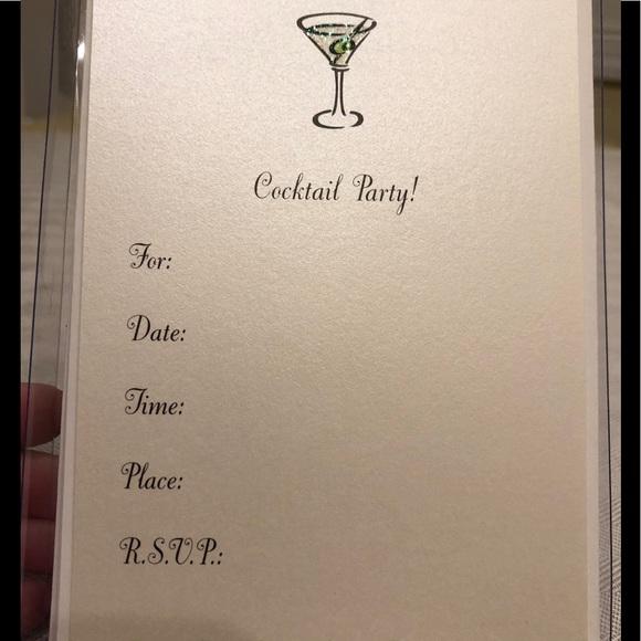 Marcel Schurman Other - Marcel Schurman Cocktail Invitations, 8